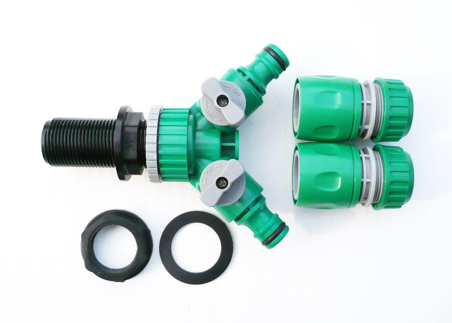 pipe connector spray p fittings connectors blue faucet garden set nozzle hose multi fast ultralight expandable flexible water functional valve